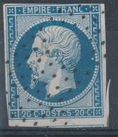 N°14 ROULETTE D'ETOILES - 1853-1860 Napoleon III