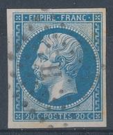N°14  LETTRE ROMAINE - 1853-1860 Napoléon III.