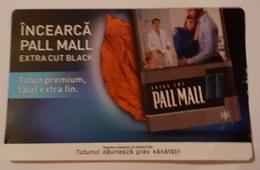 ROMANIA-CIGARETTES CARD,NOT GOOD SHAPE,0.75 X0.47 CM - Objetos Para Fumadores
