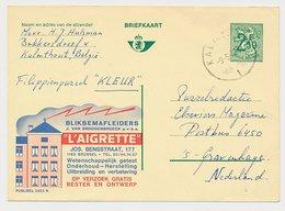 Publibel - Postal Stationery Belgium 1972 Lightning Rods - Climate & Meteorology