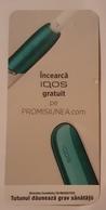 ROMANIA-CIGARETTES CARD,NOT GOOD SHAPE,0.90 X0.40 CM - Objetos Para Fumadores