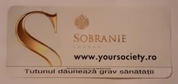 ROMANIA-CIGARETTES CARD,NOT GOOD SHAPE,0,90 X0.40 CM - Objetos Para Fumadores