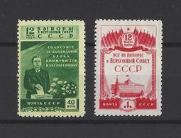 RUSSIE.  YT  N° 1410/1411  Neuf *  1950 - 1923-1991 URSS