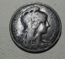 1908 - France - 5 CENTIMES, Dupuis, KM 842, Gad 165 - C. 5 Centimes