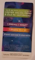 ROMANIA-CIGARETTES CARD,NOT GOOD SHAPE,0,83 X0.45 CM - Objetos Para Fumadores