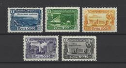 RUSSIE.  YT  N° 1425/1429  Neuf *  1950 - 1923-1991 URSS