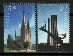 Norway 2000 Noruega / 1000 Years Skien City MNH Milenario De La Ciudad De Skien / Kk00  34-13 - Noruega