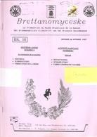 Revue Du Musée Bruxellois De La Gueuze-BRETTANOMYCESKE-Brouwerij-Brasserie Cantillon-Fabrication De La Bière-1997 - Tourisme & Régions
