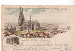 Allemagne- Köln Dom, Lüdseite (33) - Koeln