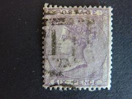 GRANDE BRETAGNE, Année 1855-57, YT N° 19 Oblitéré (cote 100 EUR) - 1840-1901 (Victoria)