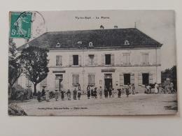 Vy Les Ruptures La Mairie Cachet Boite Rurale Haute Saône Franche Comté - Frankreich