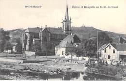 70 - RONCHAMP : Eglise Et Chapelle De Notre Dame Du Haut- CPA Village (2.870 Habitants) - Haute Saône - Frankreich