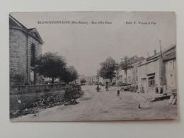 Blondefontaine Rue D'en Haut Haute Saône Franche Comté - Frankreich