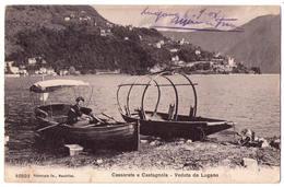 6292 - Suisse ( Tessin ) Lugano - Cassarate E Castagnola ( Veduta Da Lugano ) - N°10521 - - TI Tessin