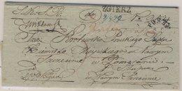 Preussen/Polen - Zgierz 1839, Incoming (Wende-)brief über Posen N. Neu-Stettin - Prusse