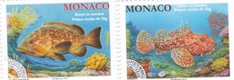Monaco YV PO 116/7 MNH 2014; 2018 Rascasse Mérou - Poissons