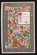 SOUVENIR DE MA PREMIERE COMMUNION ET DE MA CONFIRMATION GENT 1884 COLLEGE Ste BARBE - A.VAN DOMMELE - Images Religieuses