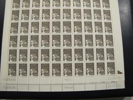 FEUILLE DU  LUQUET N° 3444 ** ERREUR DE DATE - 1997-04 Marianne Du 14 Juillet