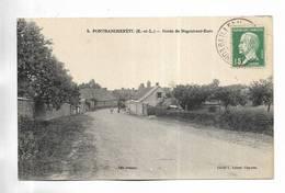 28 - PONTRANCHEFETU ( E.-et-L. ) - Route De Nogent-sur-Eure - Francia
