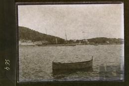 Bateau  à Identifier  ( Légende 1901 ? ) - N° SE04 - Glasplaten