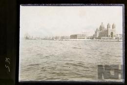 Photo Ancienne  Sur Plaque De Verre -Lieu  à Identifier  ( Légende 1901 ? ) - N° SE05 - Glasplaten