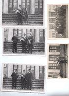 Lot X3 Photo Cartes : ECHENOZ LA MELINE Haute SAône 70 Remise De Légion D'Honneur à La Mairie 1942 + 2 Photographies - Frankreich