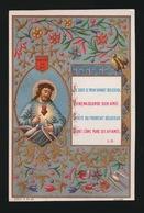 SOUVENIR D/M PREMIERE COMMUNION ET DE MA CONFIRMATION GENT 1884 COLLEGE Ste BARBE - A.VAN DAMME - Images Religieuses