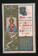 SOUVENIR D/M PREMIERE COMMUNION ET DE MA CONFIRMATION GENT 1884 COLLEGE Ste BARBE - J.MAILLET - Devotieprenten
