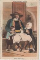 Anciens Costumes De Bretagne Homme De Saint Thois (LOT A39) - Personnages
