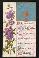 SOUVENIR D/M PREMIERE COMMUNION ET DE MA CONFIRMATION GENT 1882 COLLEGE Ste BARBE - J.LANGEROCK - Images Religieuses
