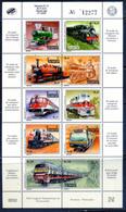 Venezuela 1993 / Railways Trains MNH Trenes Züge / Gl07  5-58 - Trenes