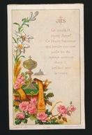 SOUVENIR D/M PREMIERE COMMUNION ET DE MA CONFIRMATION GENT 1884 COLLEGE Ste BARBE - O.VAN OOST - Images Religieuses