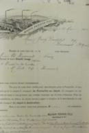 Facture Maison Pernod Et Fils à Pontarlier 1904 - 1900 – 1949