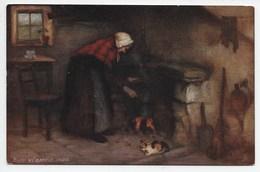 H.J. Dobson - Busy Wj Hamely Cares - Tuck Oilette 9343 - Autres Illustrateurs