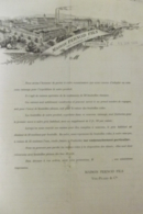 Facture Maison Pernod Et Fils à Pontarlier 1904 - France
