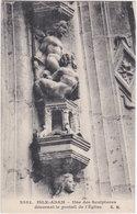95. ISLE-ADAM. Une Des Sculptures Décorant Le Portail De L'Eglise. 2553 - L'Isle Adam