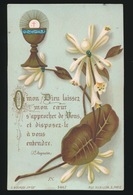 SOUVENIR D/M PREMIERE COMMUNION ET DE MA CONFIRMATION GENT 1887 COLLEGE Ste BARBE - C.ONRAET - Images Religieuses