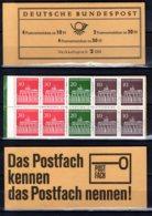 1967 West Germany / BRD - Booklet Brandenburger Tor - MH Closed MNH** MI MH 12 Bu Architecture - [7] Repubblica Federale
