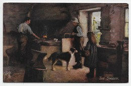 H.J. Dobson - The Smiddy - Tuck Oilette 9343 - Autres Illustrateurs