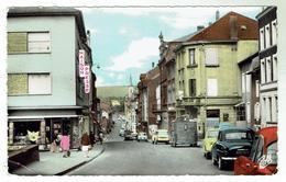 ALGRANGE Près D'Hayange - Le Centre Et La Rue Clémenceau - Circulée 1966 -format 9x14 - Frankreich