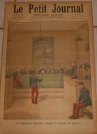 Le Petit Journal. 23 Décembre 1894. Le Capitaine Dreyfus Devant Le Conseil De Guerre. Noces En Hongrie. - Books, Magazines, Comics
