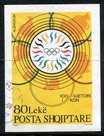 ALBANIA 1995 Olympic Committee Block Used.   Michel Block 103 - Albanie