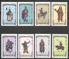 Mongolia 1997 Year , Mint Stamps MNH (**),  Mi# 2736-43 - Mongolië