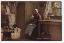 H.J. Dobson - Grannie's Cup Of Tea - Tuck Oilette 9343 - Autres Illustrateurs