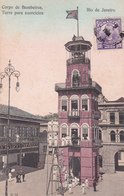 CPA Brésil / Brasil - Rio De Janeiro - Corpo De Bombeiros - Torre Para Exercicios - 1908 - Rio De Janeiro