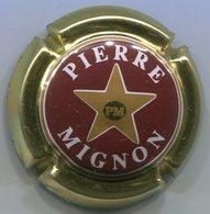 CAPSULE-CHAMPAGNE MIGNON Pierre N°13 Bordeaux & Or Pâle - Mignon, Pierre