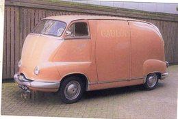Panhard Dyne Z 'Speciale'  -  Publicité Pour La Marque 'Gauloises'  - Carte Postale Moderne - Camion, Tir