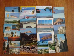 Sud De La France Departements 06 13 2A 2B 83 Lot De 150 CPM Années 70 à 90 - Cartes Postales