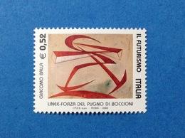 2003 ITALIA FUTURISMO 0,52 FRANCOBOLLO NUOVO STAMP NEW MNH** - 6. 1946-.. Repubblica