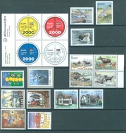 ALAND - 2000 - MNH/*** LUXE  - YEAR COMPLETE EUROPA - Yv 164-182 - Lot 20786 - Aland
